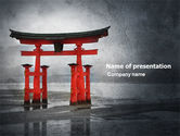 Art & Entertainment: Ancient Japan PowerPoint Template #05350