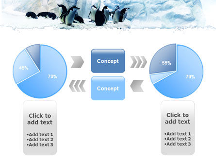 Penguins On The Iceberg PowerPoint Template Slide 11