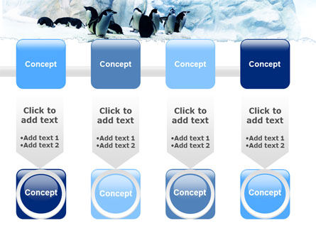 Penguins On The Iceberg PowerPoint Template Slide 18