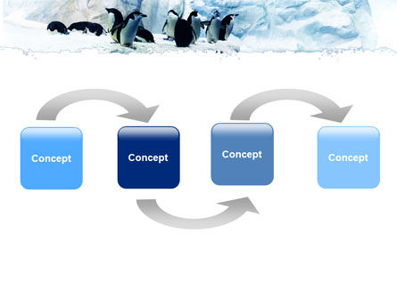 Penguins On The Iceberg PowerPoint Template Slide 4