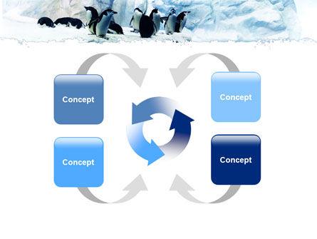 Penguins On The Iceberg PowerPoint Template Slide 6