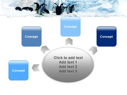 Penguins On The Iceberg PowerPoint Template Slide 7