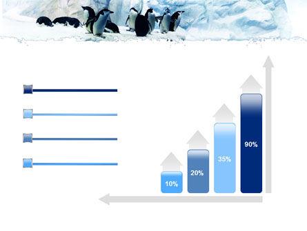 Penguins On The Iceberg PowerPoint Template Slide 8