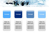 Penguins On The Iceberg PowerPoint Template#5