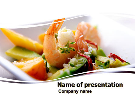 Shrimp PowerPoint Template