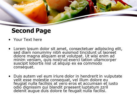 Shrimp PowerPoint Template Slide 2