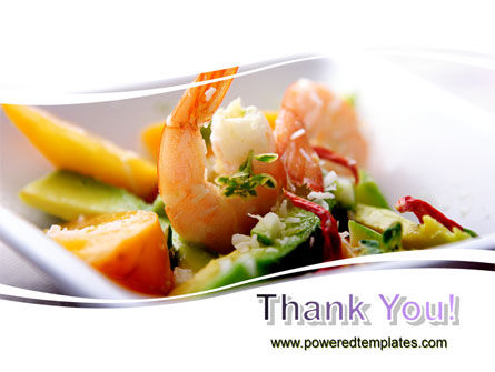 Shrimp PowerPoint Template Slide 20