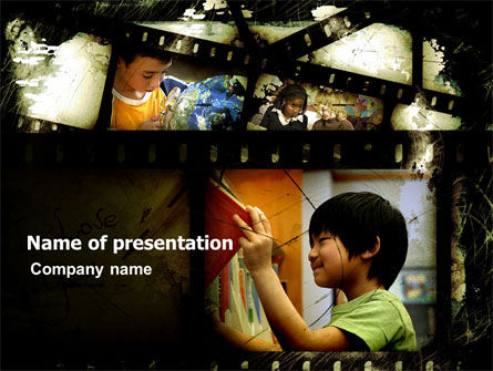 Educational Films PowerPoint Template