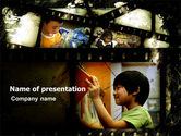 Education & Training: Educational Films PowerPoint Template #05356