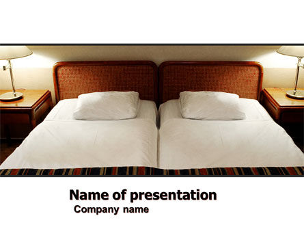 Motel Room PowerPoint Template