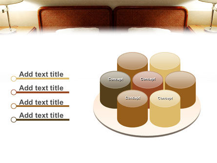 Motel Room PowerPoint Template Slide 12