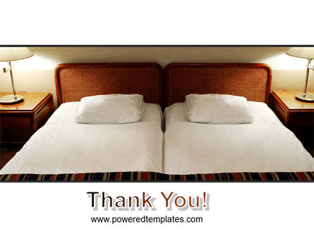 Motel Room PowerPoint Template Slide 20