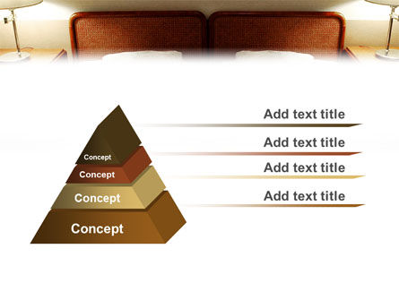 Motel Room PowerPoint Template Slide 4