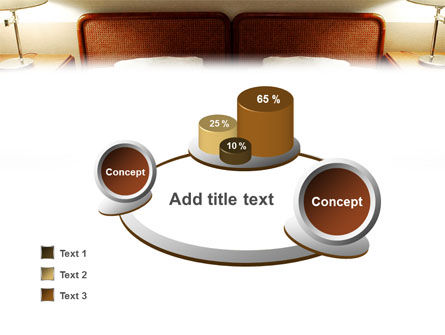 Motel Room PowerPoint Template Slide 6