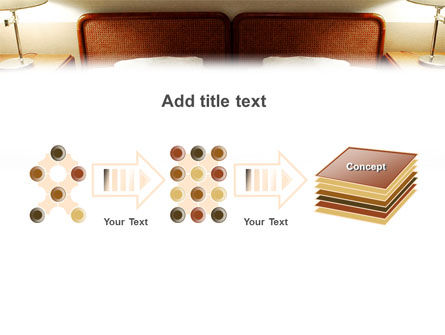 Motel Room PowerPoint Template Slide 9