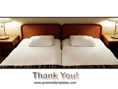 Motel Room PowerPoint Template#20