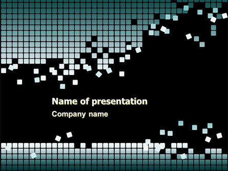 Distorted Structure PowerPoint Template