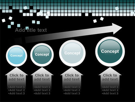 Distorted Structure PowerPoint Template Slide 13