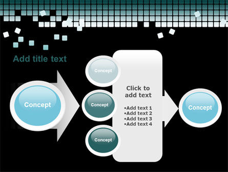 Distorted Structure PowerPoint Template Slide 17
