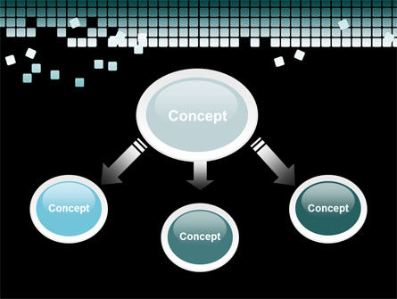 Distorted Structure PowerPoint Template Slide 4