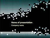 Abstract/Textures: Distorted Structure PowerPoint Template #05358