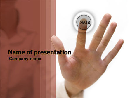 Consulting: Press Start PowerPoint Template #05360