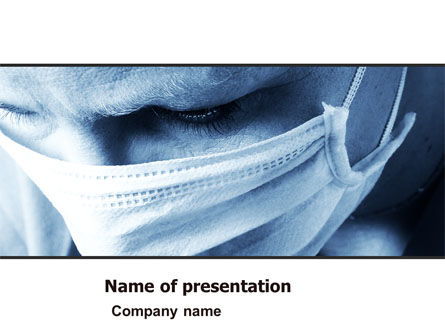 Surgeon PowerPoint Template, 05362, Medical — PoweredTemplate.com