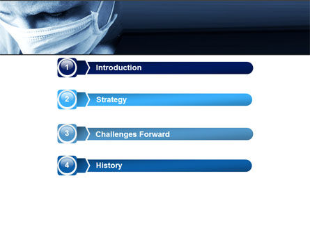 Surgeon PowerPoint Template, Slide 3, 05362, Medical — PoweredTemplate.com