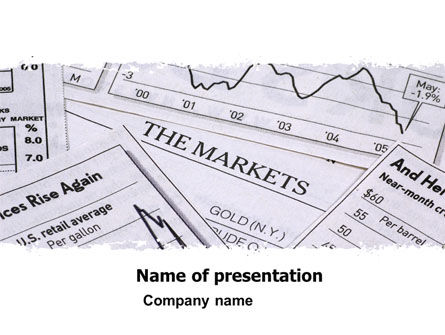 Market Overview PowerPoint Template, 05363, Financial/Accounting — PoweredTemplate.com