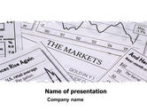 Financial/Accounting: Market Overview PowerPoint Template #05363