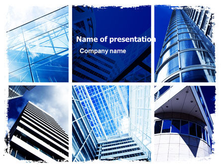 Construction: Urban Architecture PowerPoint Template #05365