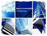 Construction: Modèle PowerPoint de architecture urbaine #05365