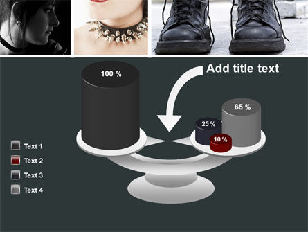 Goth Culture PowerPoint Template Slide 10