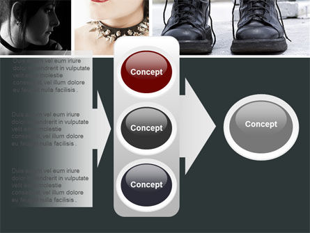 Goth Culture PowerPoint Template Slide 11