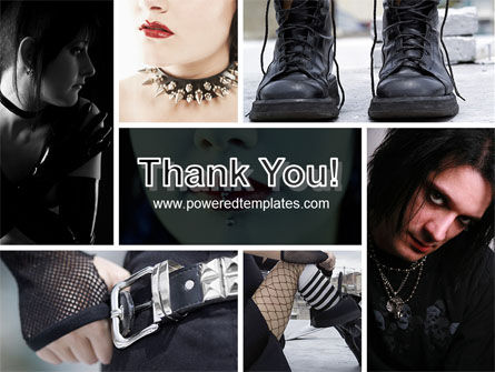 Goth Culture PowerPoint Template Slide 20