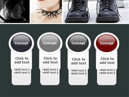 Goth Culture PowerPoint Template Slide 5