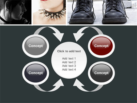 Goth Culture PowerPoint Template Slide 6