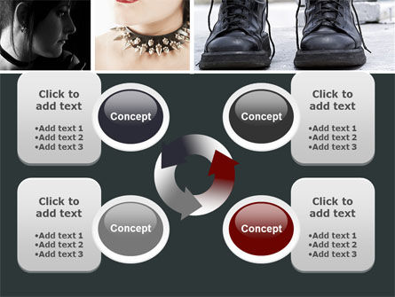 Goth Culture PowerPoint Template Slide 9