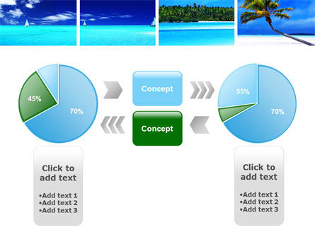 Exotic Beaches PowerPoint Template Slide 11
