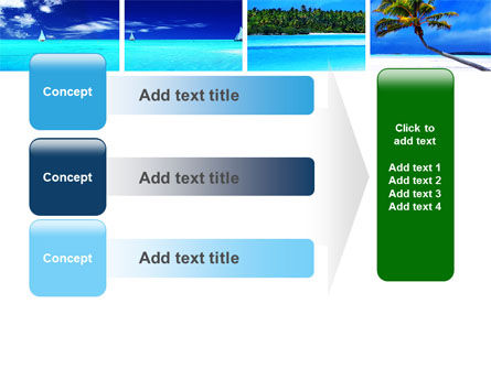 Exotic Beaches PowerPoint Template Slide 12