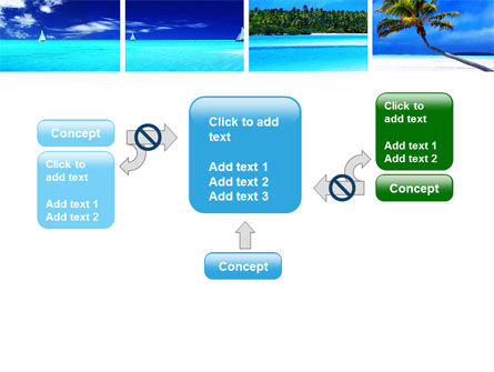 Exotic Beaches PowerPoint Template Slide 13