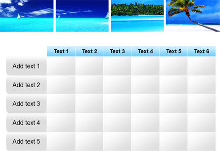 Exotic Beaches PowerPoint Template Slide 15
