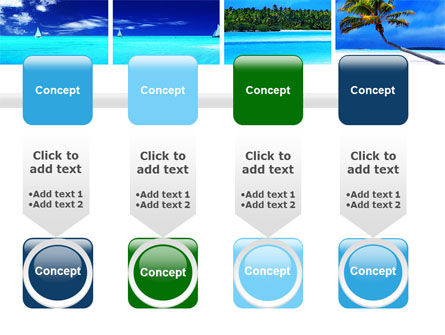 Exotic Beaches PowerPoint Template Slide 18