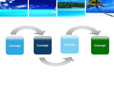 Exotic Beaches PowerPoint Template Slide 4