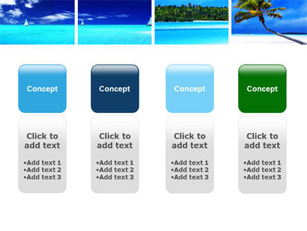 Exotic Beaches PowerPoint Template Slide 5