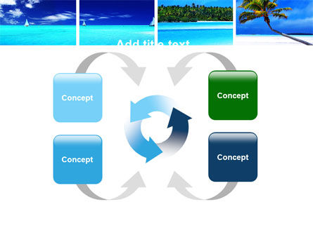 Exotic Beaches PowerPoint Template Slide 6