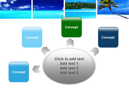 Exotic Beaches PowerPoint Template Slide 7
