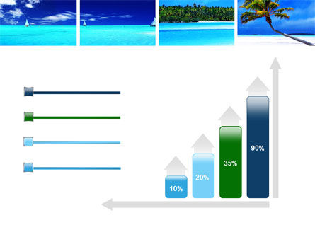 Exotic Beaches PowerPoint Template Slide 8