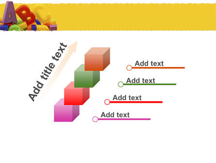Alphabet PowerPoint Template Slide 14