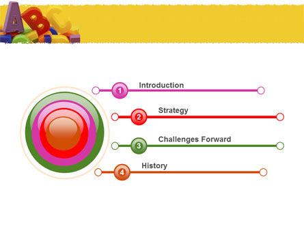 Alphabet PowerPoint Template, Slide 3, 05374, Education & Training — PoweredTemplate.com